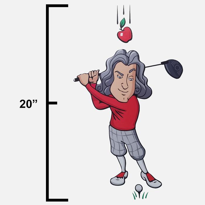 Sir Isaac Newton Decal