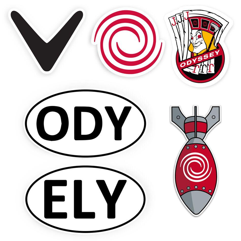Image of Callaway Golf 6-Piece Sticker Bundle