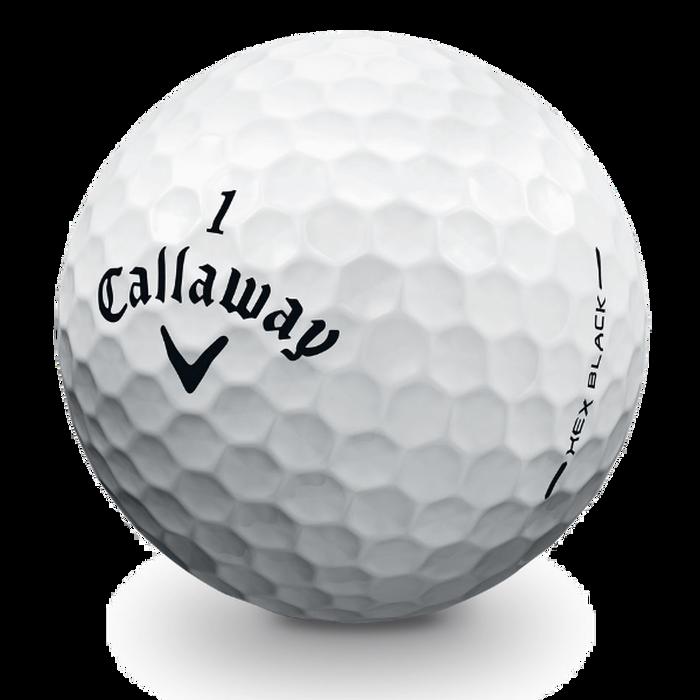 HEX Black Tour Golf Balls