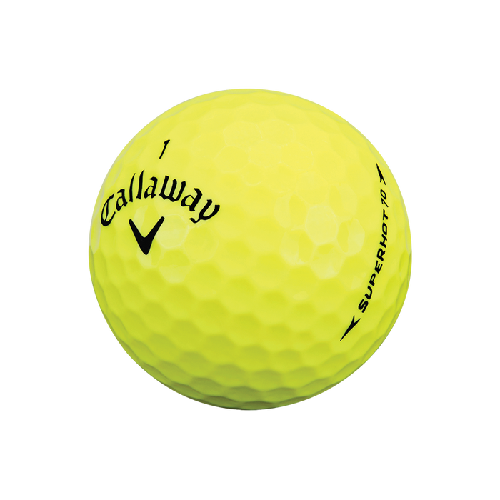 Superhot 70 15-Pack Yellow Golf Balls