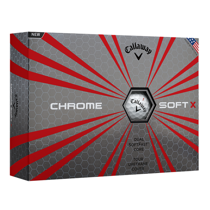 Chrome Soft X Logo Golf Balls