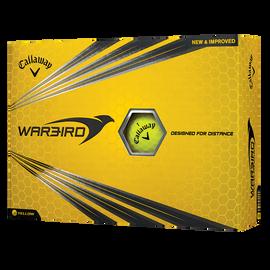 Warbird Yellow Logo Golf Balls
