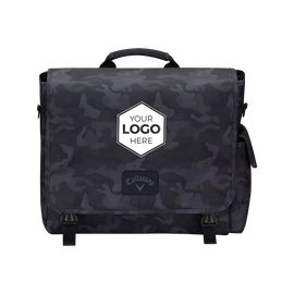 Clubhouse Logo Messenger Bag