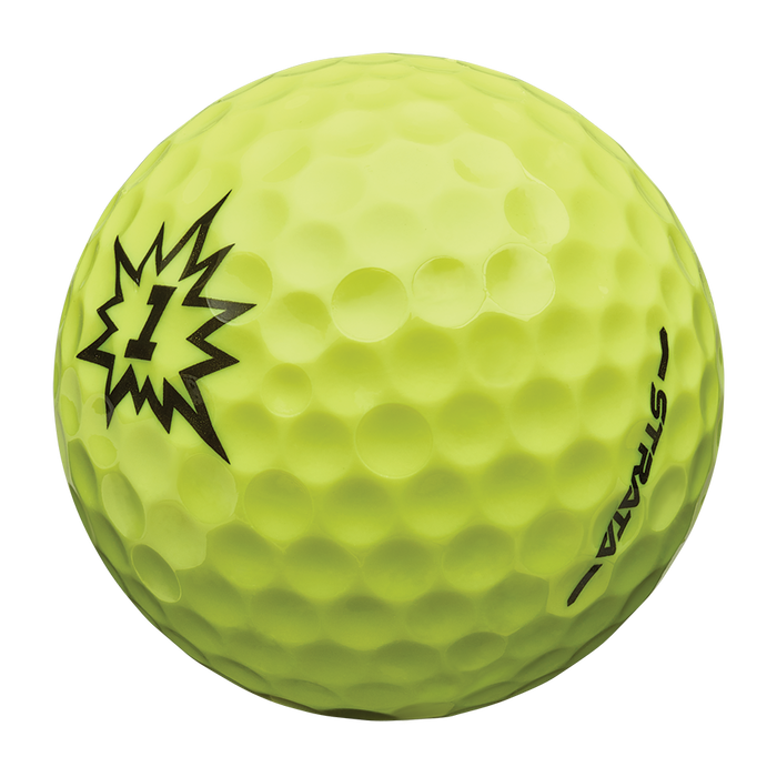 Strata Boom Multi-Color Golf Balls