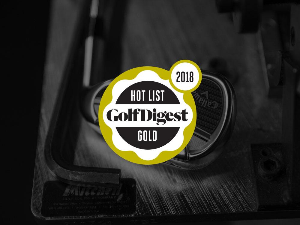 Callaway Epic Pro Irons 2018 Golf Digest Hot List Badge