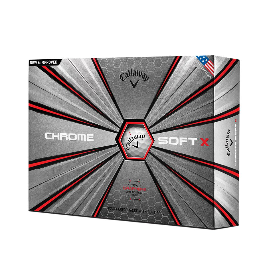 Image of Callaway Golf 2018 Chrome Soft X Golf Balls