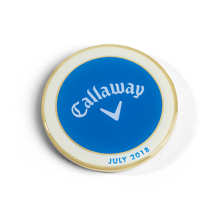 Callaway 2018 July Major Medallion