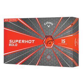 Superhot Bold 15-Pack Orange Logo Golf Balls