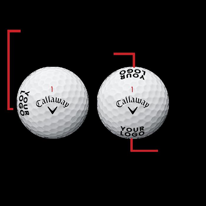 Chrome Soft X Logo Golf Balls