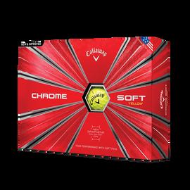 2018 Chrome Soft Yellow Golf Balls