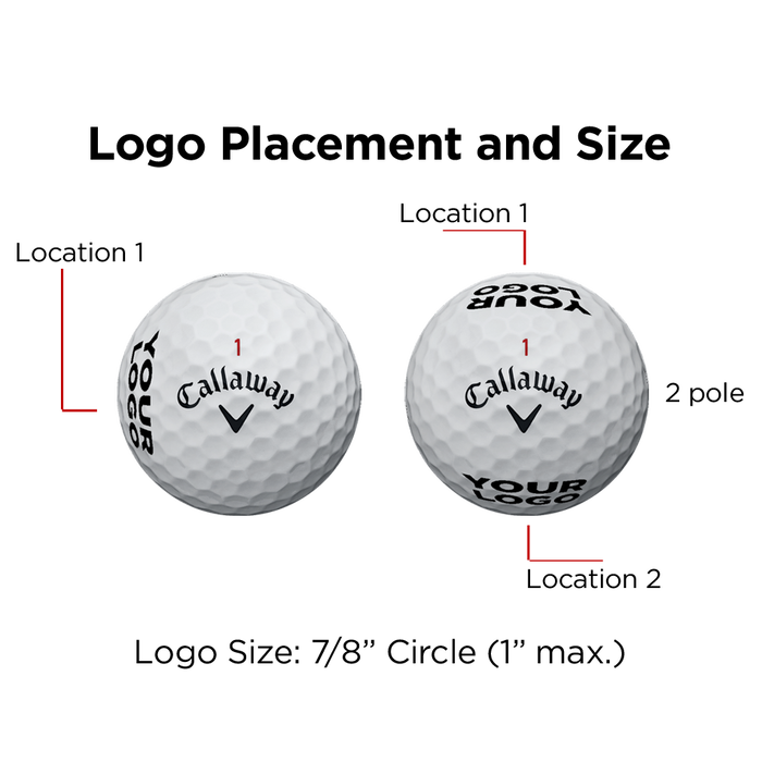 Supersoft Logo Golf Balls
