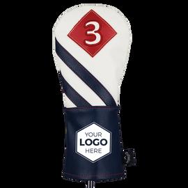 2018 Vintage Fairway Wood Logo Headcover