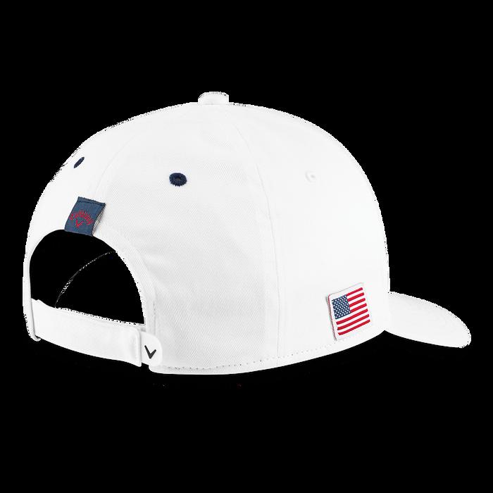 Stars & Stripes Chevron High Crown Hat