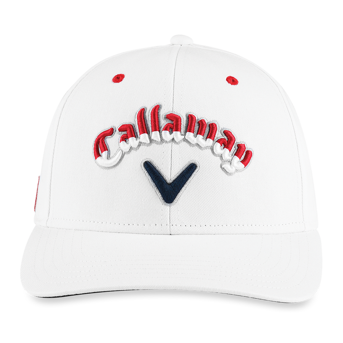 Stars & Stripes Script High Crown Hat