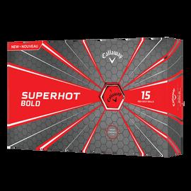 Superhot Bold 15-Pack Red Logo Golf Balls