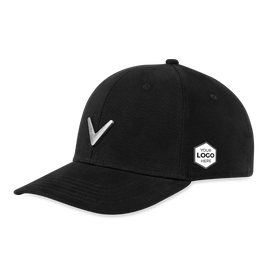 Metal Icon Logo Cap