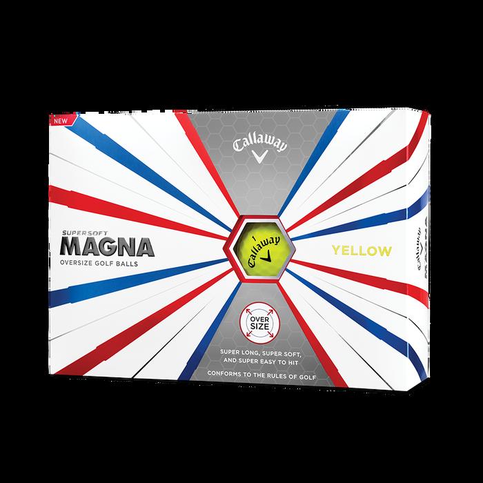 Supersoft Magna Yellow Golf Balls