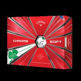 2018 Chrome Soft Shamrock Truvis Golf Balls