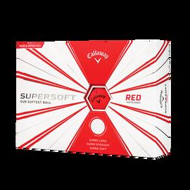 Supersoft Matte Red Golf Balls