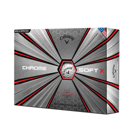 2018 Chrome Soft X Golf Balls