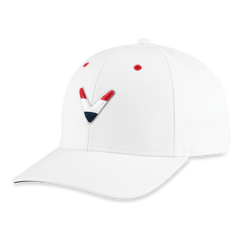Stars & Stripes Chevron High Crown Hat