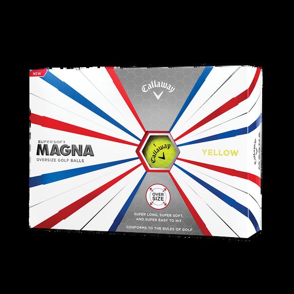 Callaway Supersoft Magna Yellow Golf Balls Technology Item