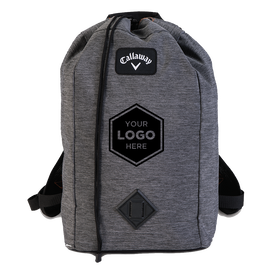Clubhouse Logo Drawstring Backpack