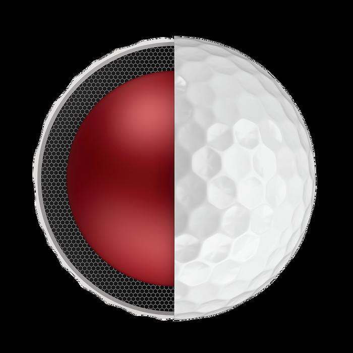 Chrome Soft Logo Golf Balls