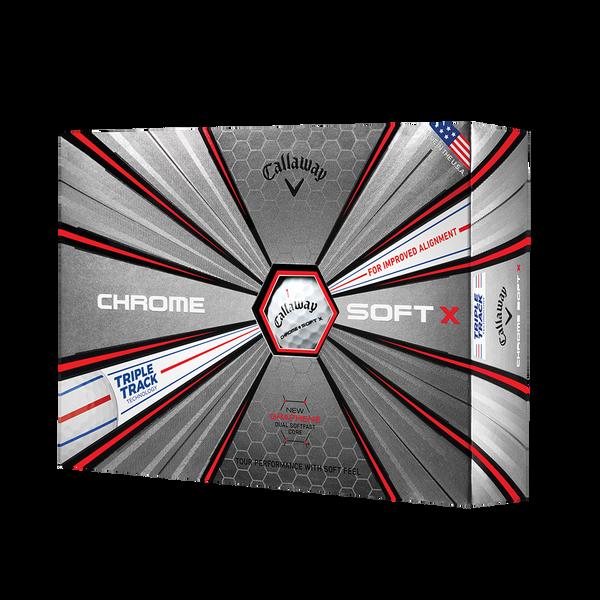 Chrome Soft X Triple Track Golf Balls Technology Item
