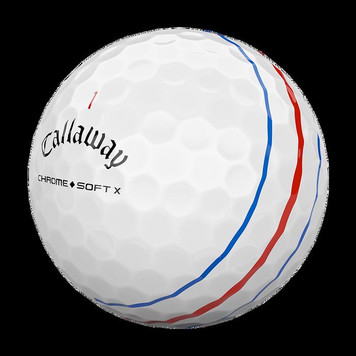 Chrome Soft X Triple Track Golf Balls