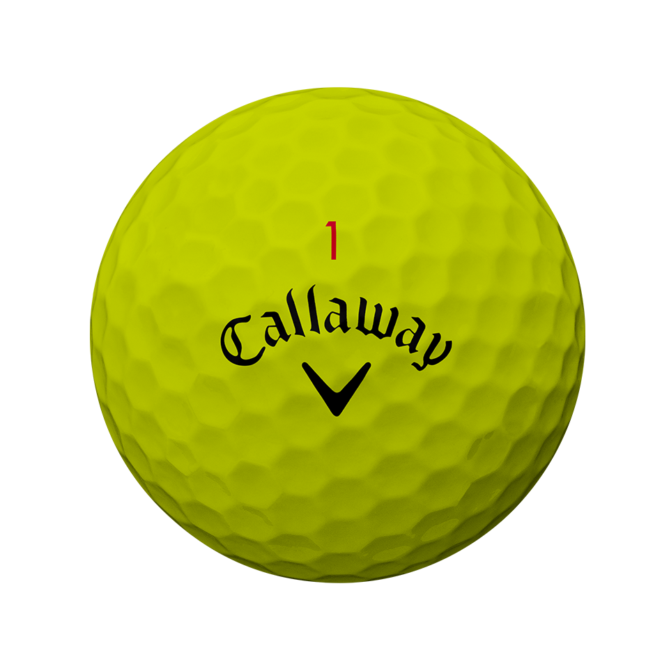Chrome Soft Yellow Golf Balls - View 2