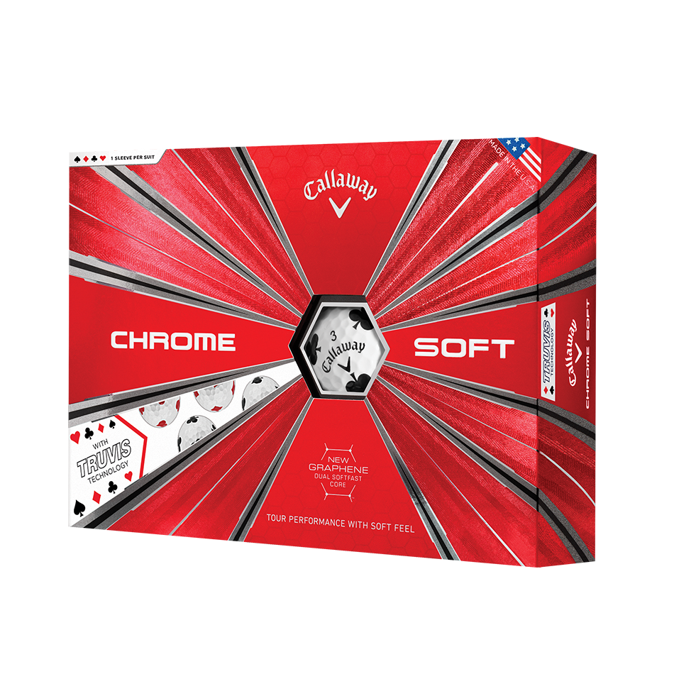 Chrome Soft Truvis Suits Golf Balls - View 1
