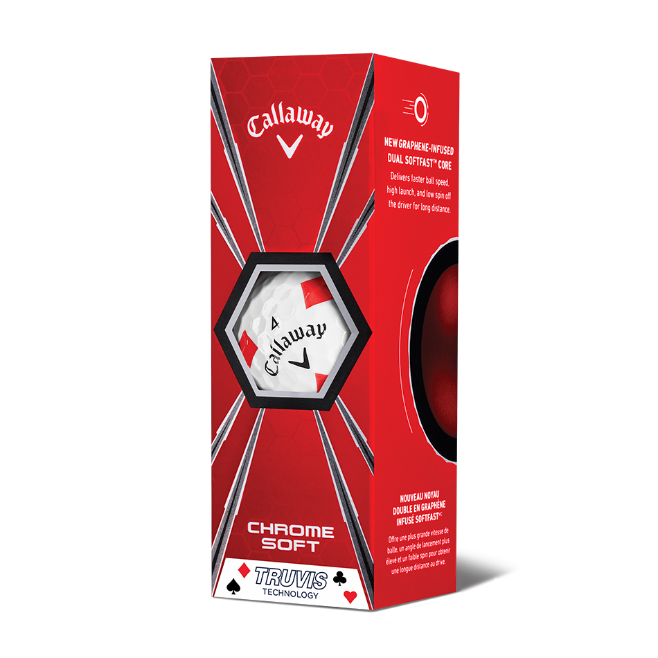 Chrome Soft Truvis Suits Golf Balls - View 5