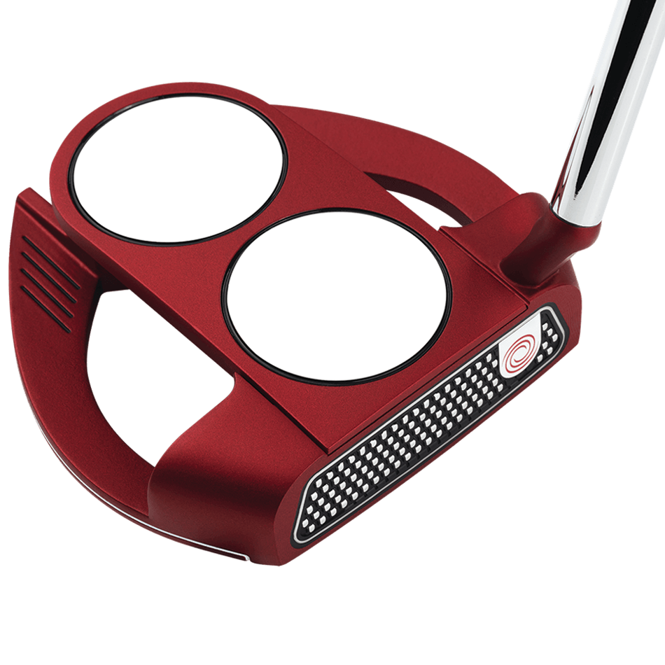 Odyssey O-Works Red 2-Ball Fang S Putter - View 1