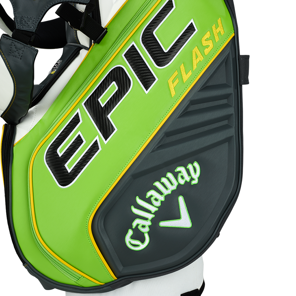 Epic Flash Staff Double Strap Logo Stand Bag - View 3