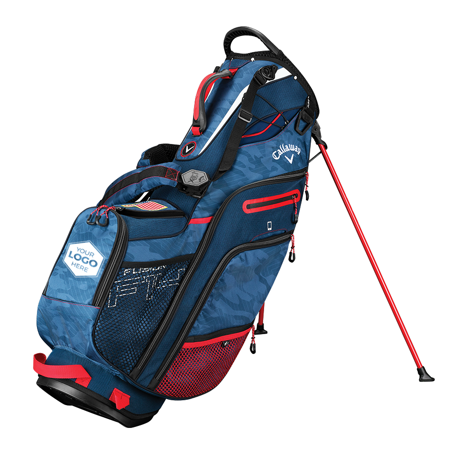 Fusion 14 Logo Stand Bag - View 1