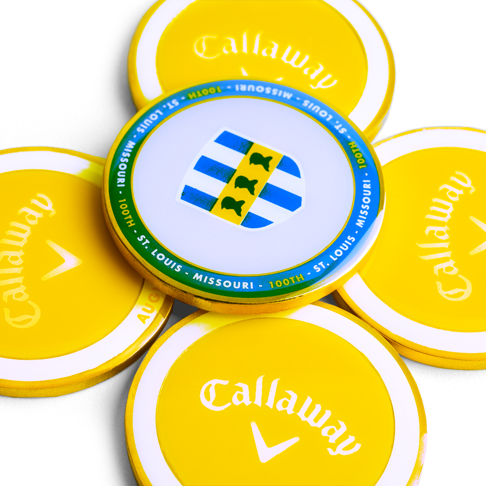 Callaway 2018 August Major Medallion - View 2