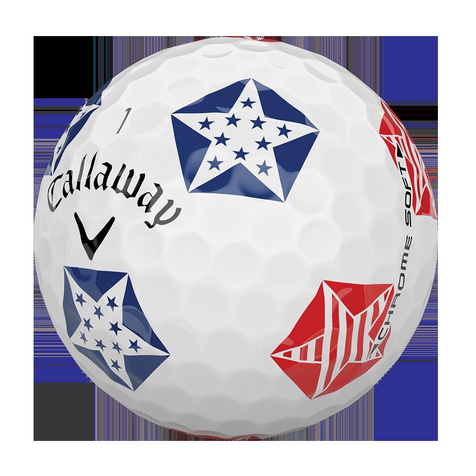 Chrome Soft Truvis Stars and Stripes Golf Balls - View 4