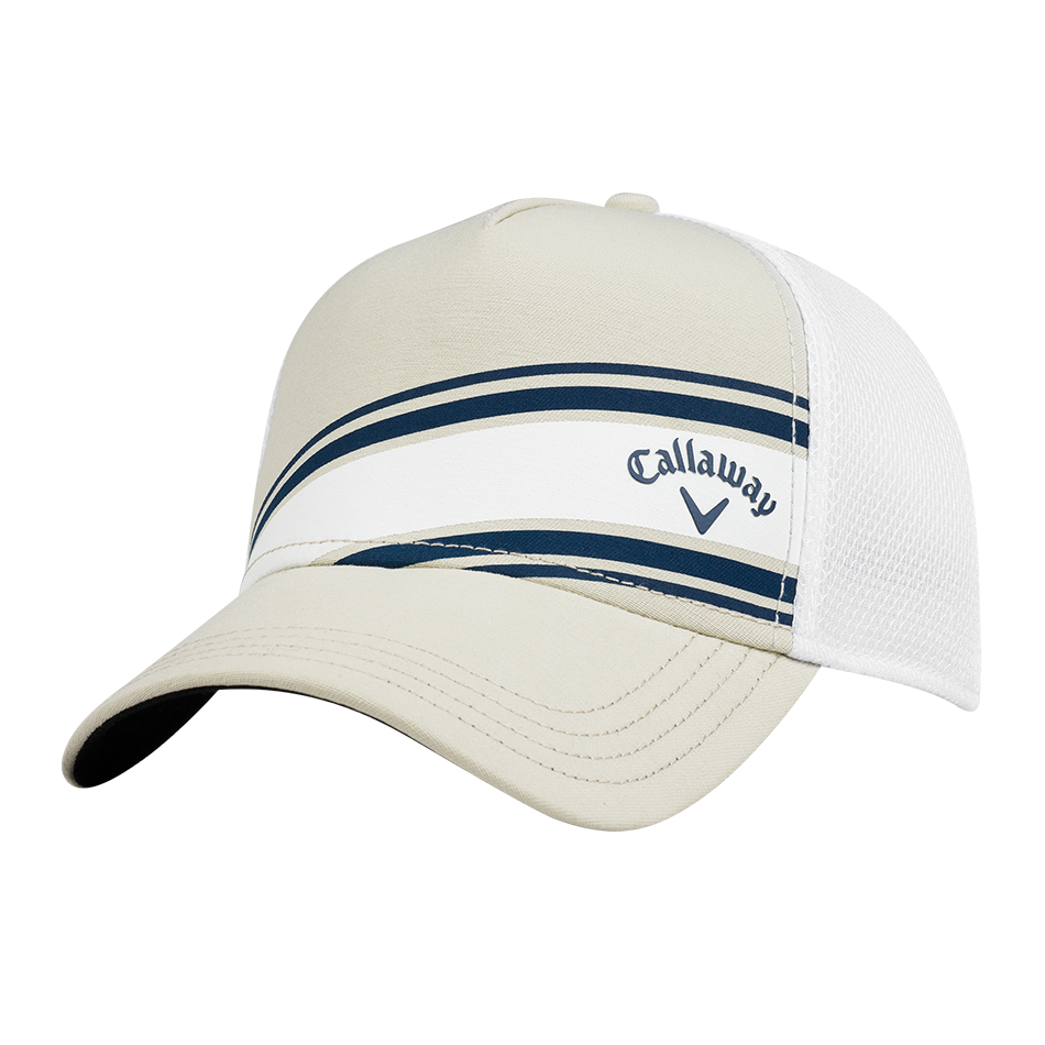 Stripe Mesh Cap - View 1