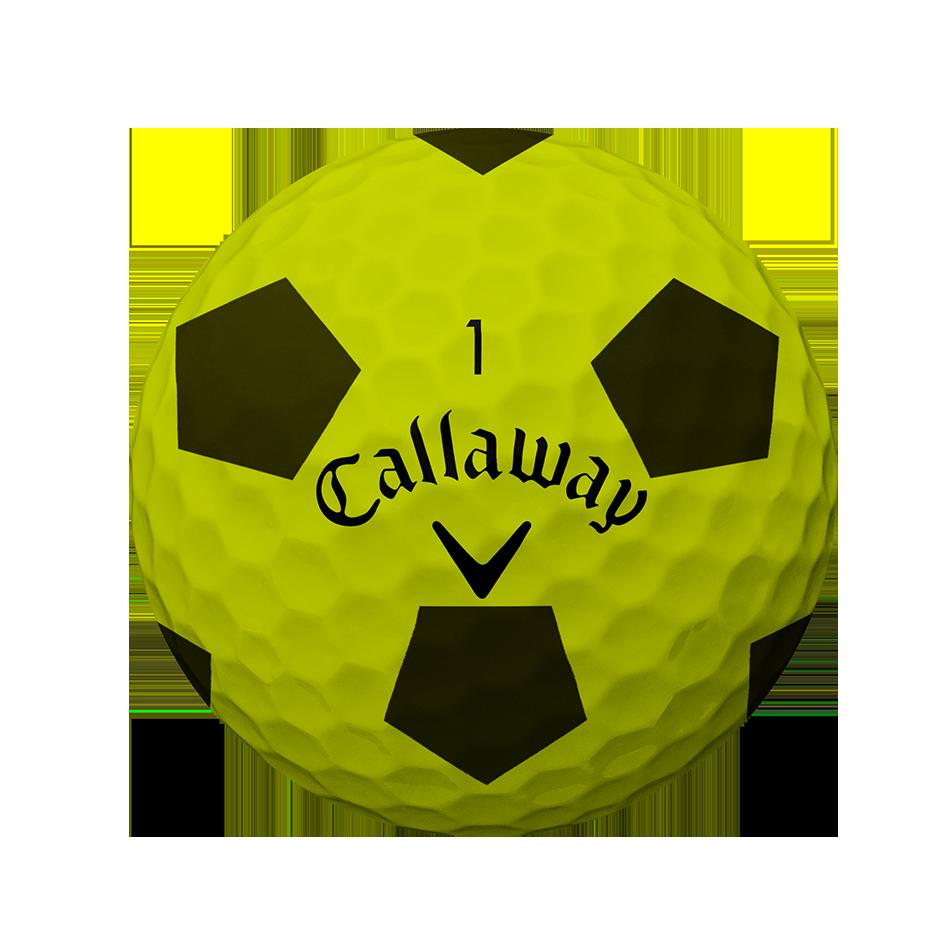 Chrome Soft Truvis Yellow Golf Balls - View 2