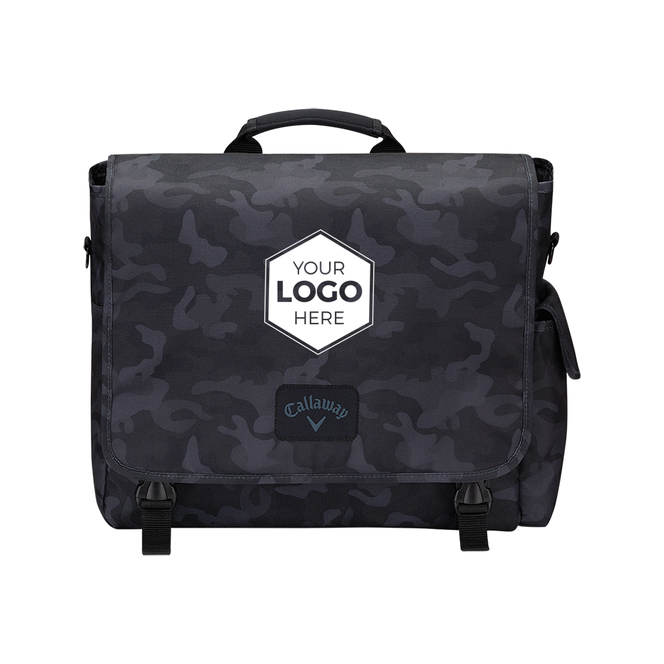 Clubhouse Logo Messenger Bag - View 1