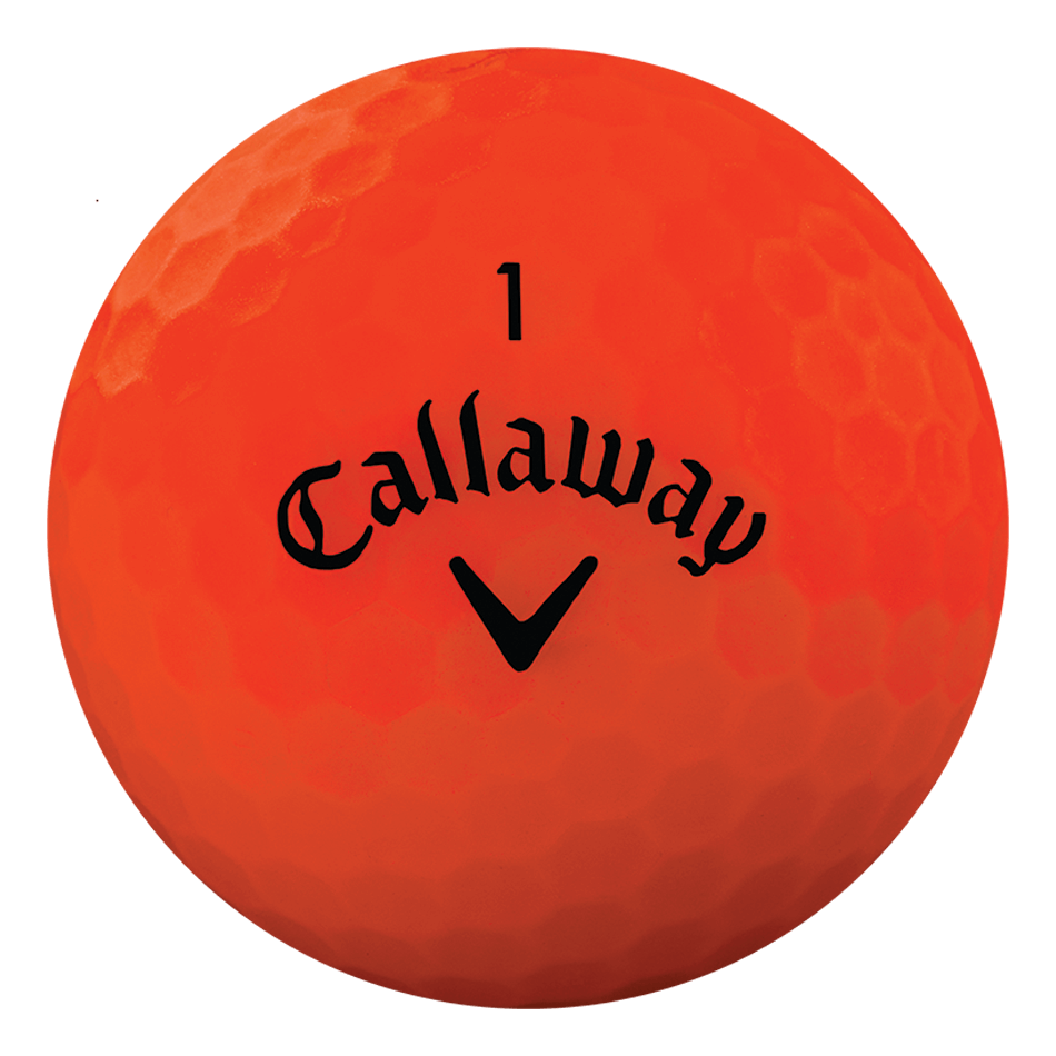 Superhot Bold Matte Orange 15-Pack Golf Balls - View 3