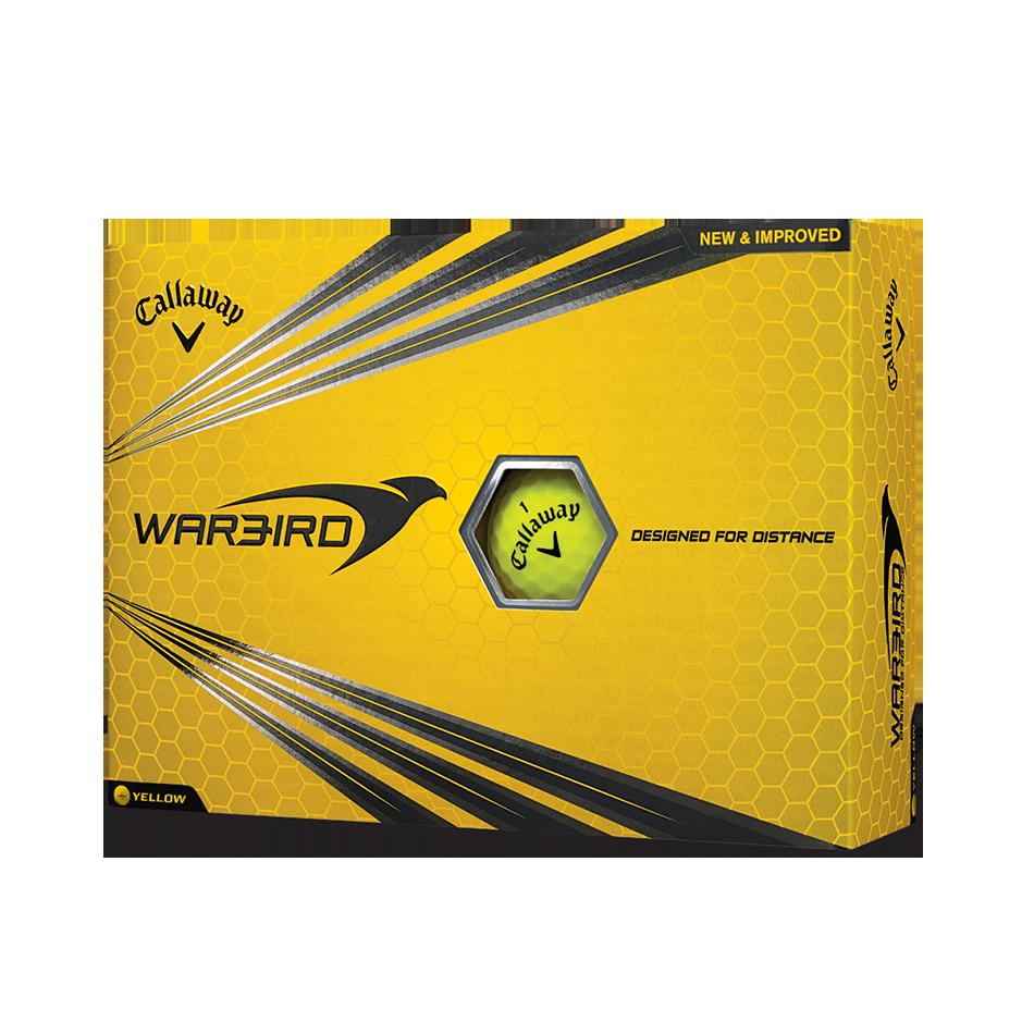 Warbird Yellow Golf Balls - View 1