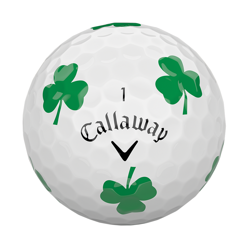 Chrome Soft Shamrock Truvis Golf Balls - View 3
