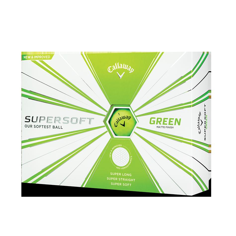 Callaway Supersoft Matte Green Golf Balls - View 1