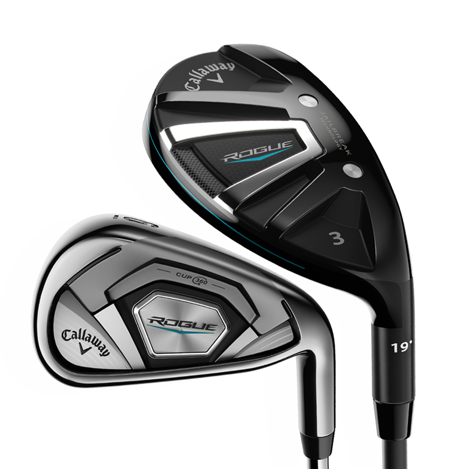 Rogue Irons/Hybrids Combo Set - View 1