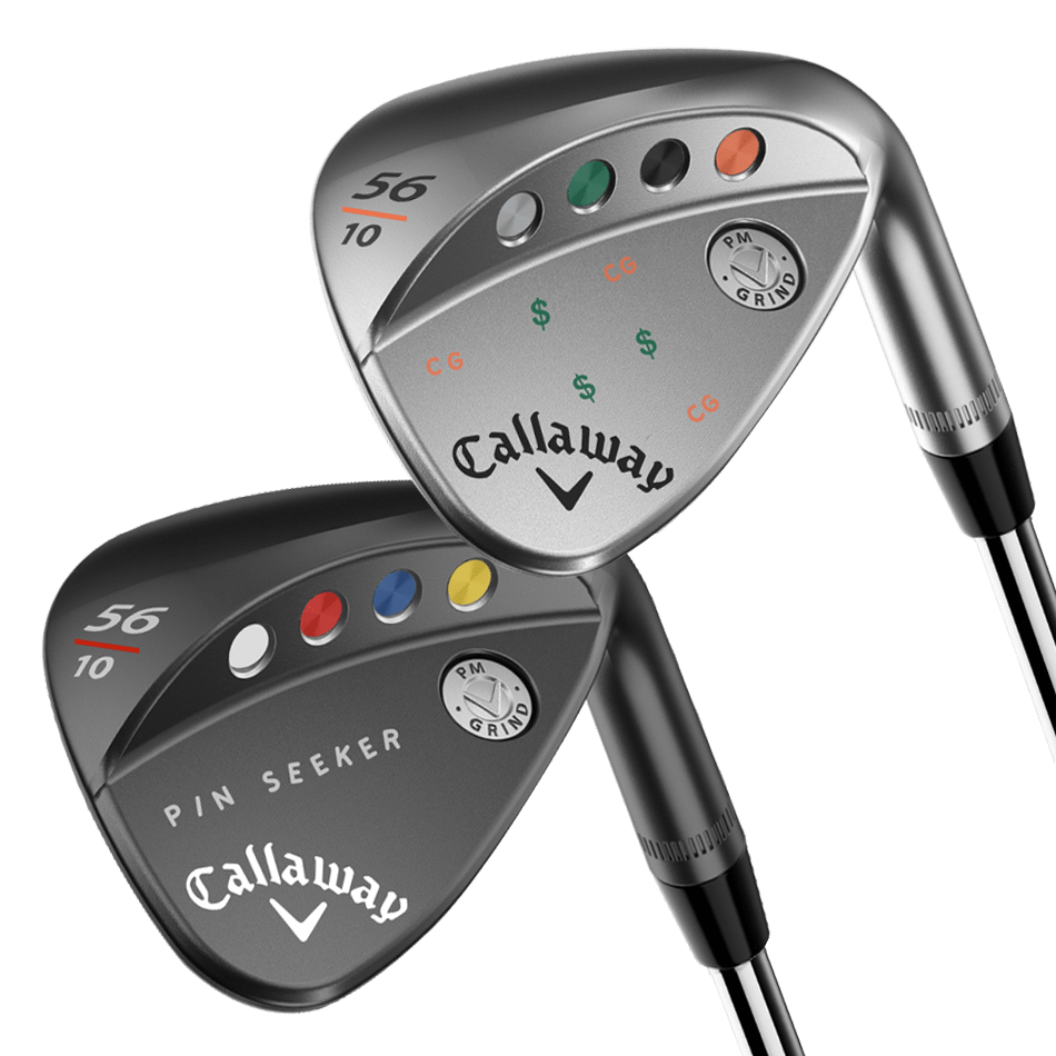 PM Grind 19 Chrome Callaway Customs Wedges