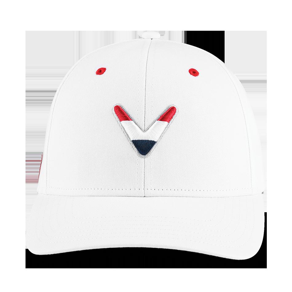Stars & Stripes Chevron High Crown Hat - View 3