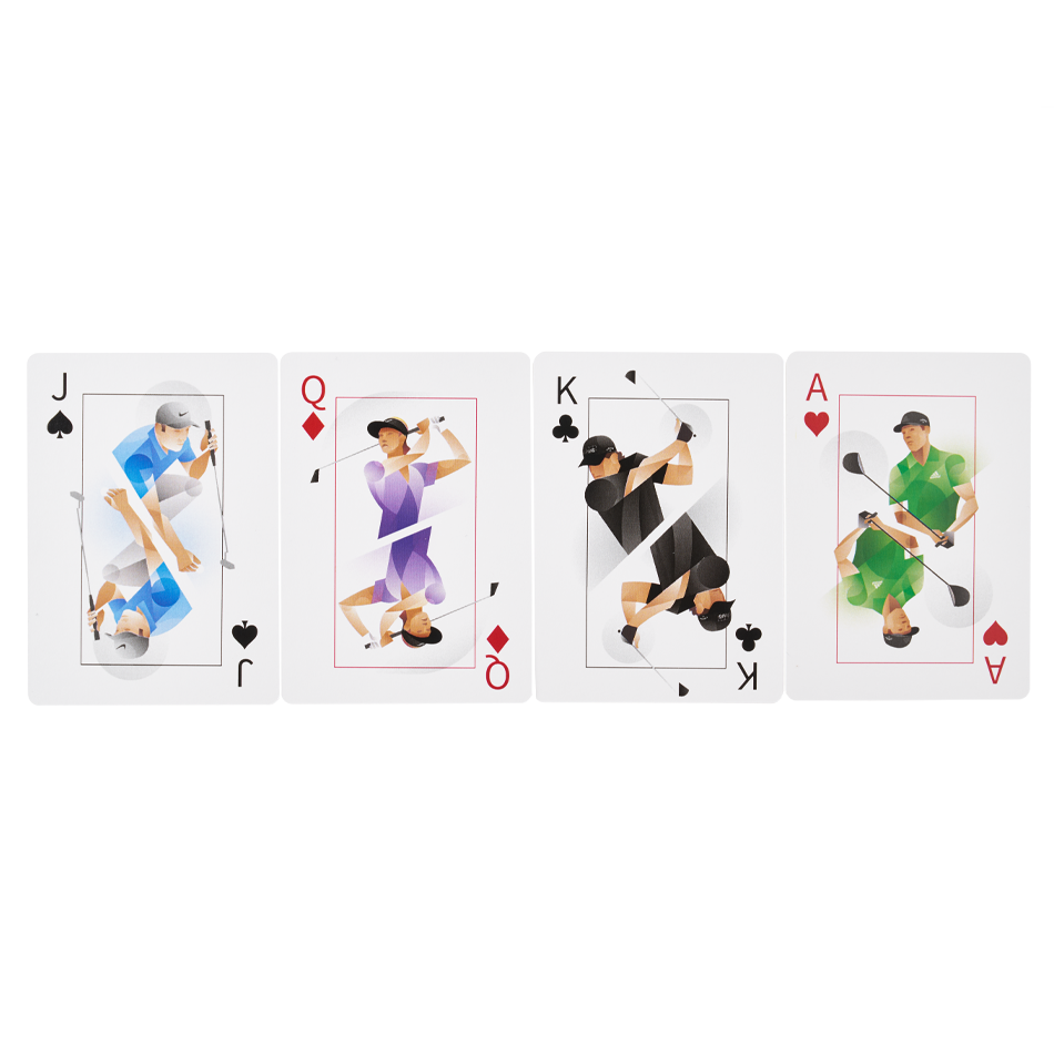 Chrome Soft Truvis Suits Playing Cards - View 2