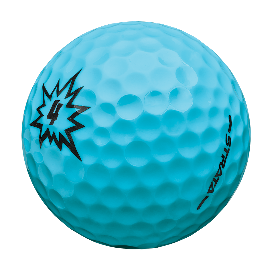 Strata Boom Multi-Color Golf Balls - View 2